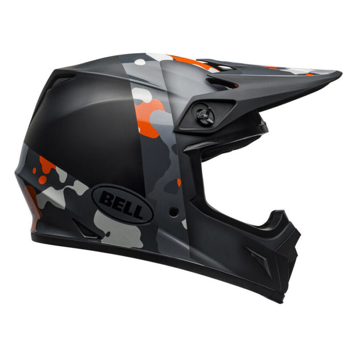 MX-9 MIPS PRESENCE BLACK FLO ORANGE CAMO